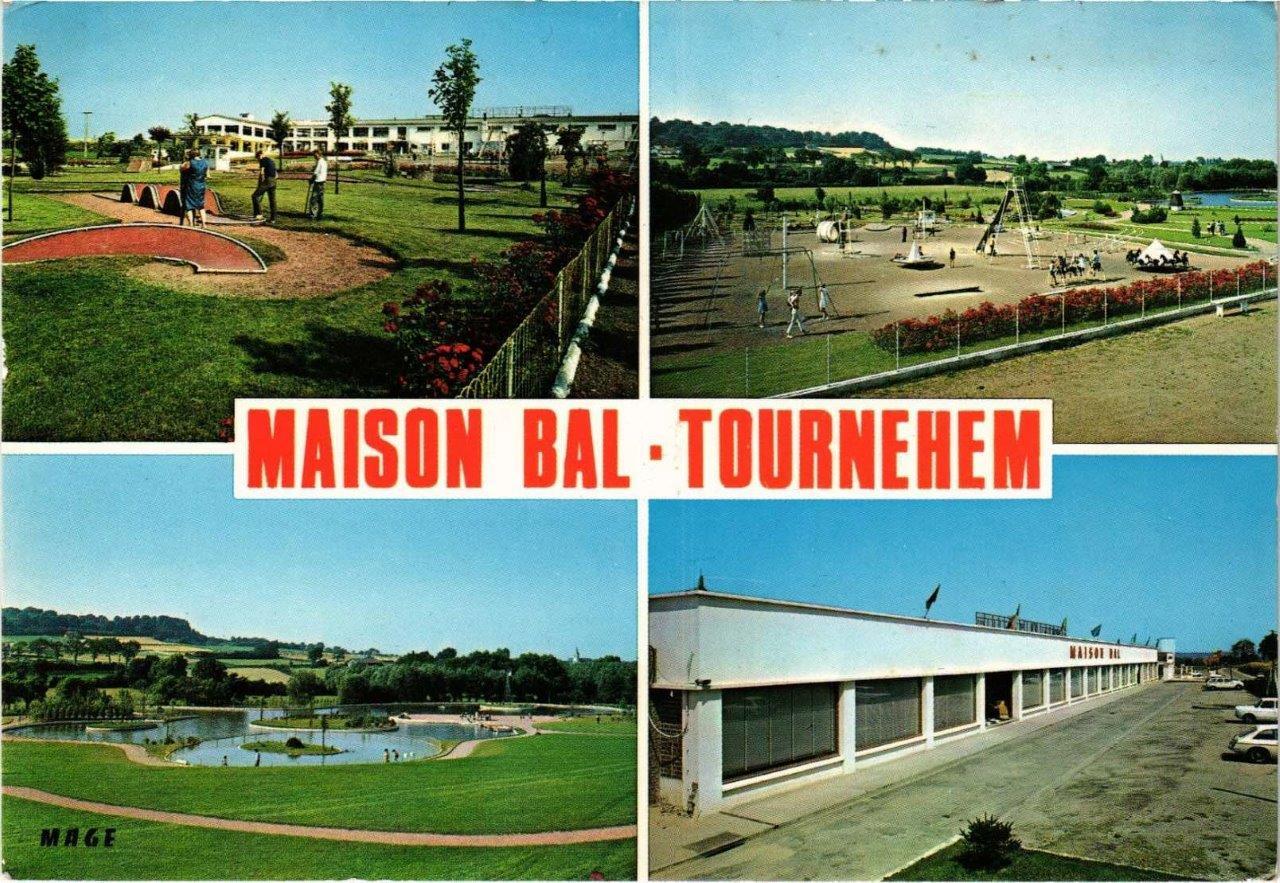 Cartes postales Maison Bal