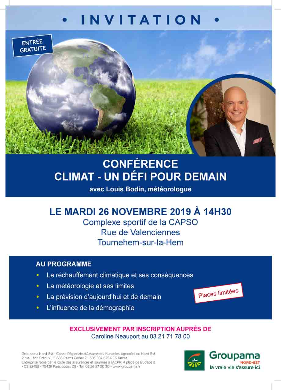 Conference meteo 62