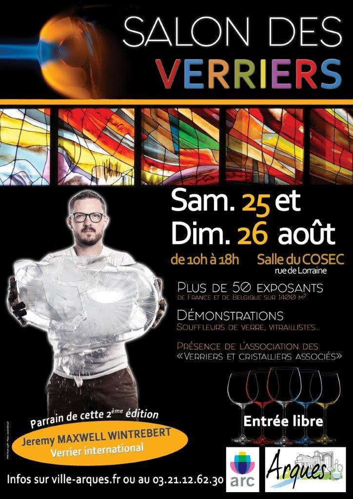 Affiche salon des verriers 2018