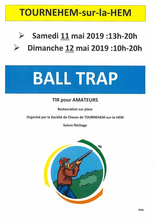 Ball trap 11 et 12 mai