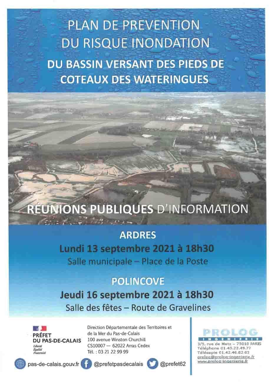 Flyer reunions publiques ppri