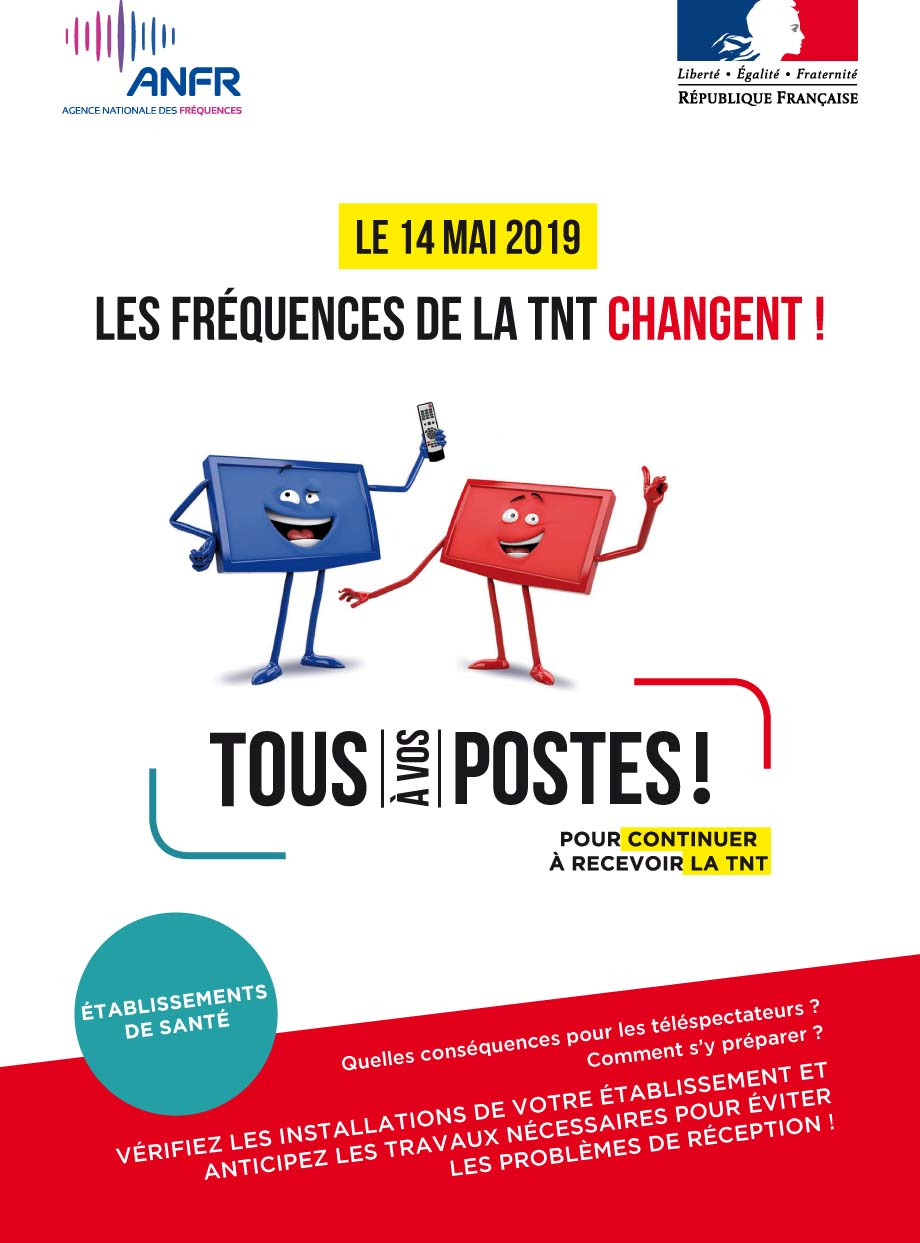 Les frequences de la tnt changent