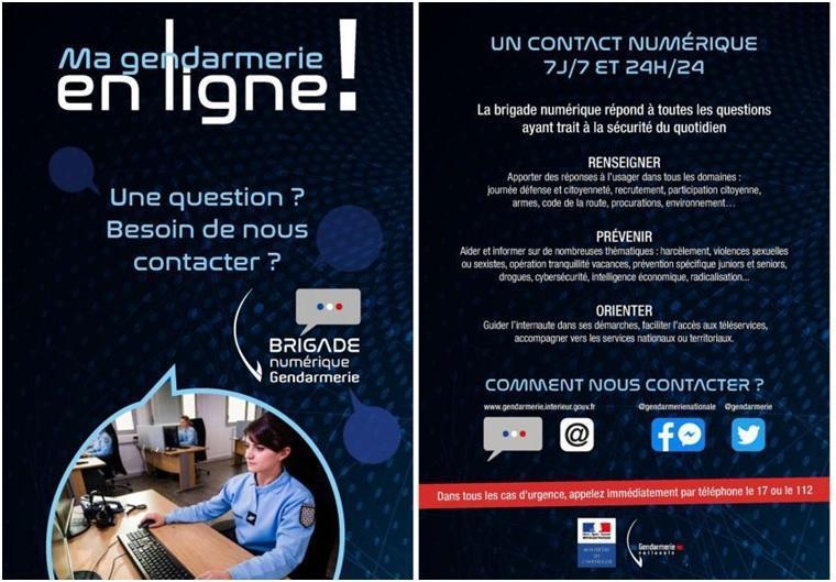 Ma gendarmerie en ligne