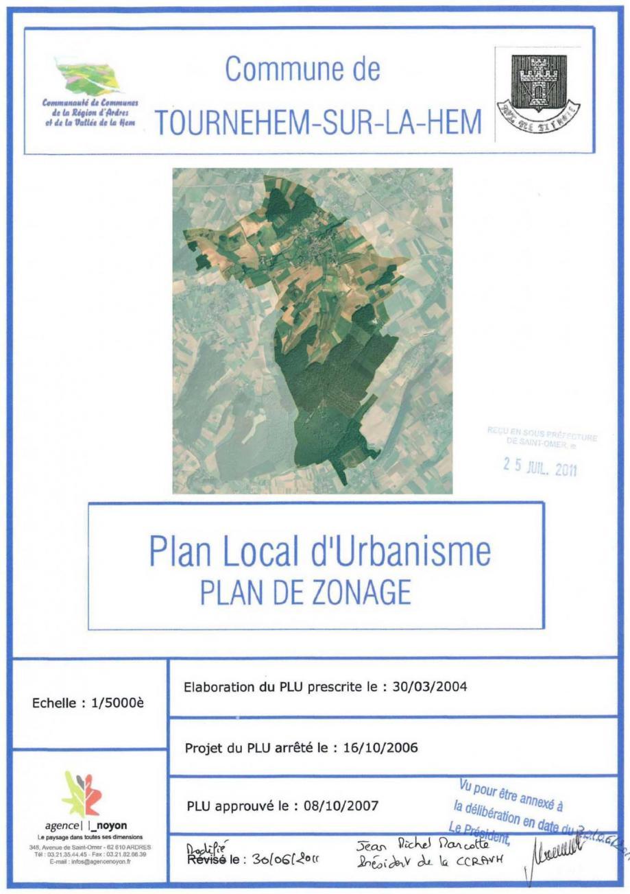 Plan zonage 2