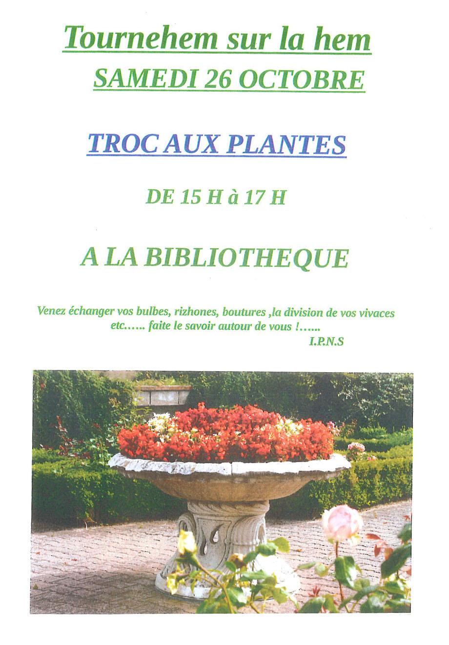 Troc aux plantes 1